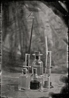 Fotografía química, Colodión húmedo en Bogotá.